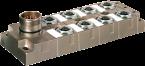 Répartiteur MVP-Métal 8xM12 5 pôles avec LEDs 24VDC