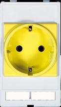 MSDD modulaire Module prise VDE (DE) jaune