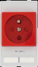 MSDD modulaire Module prise MOSAIC rouge informat.
