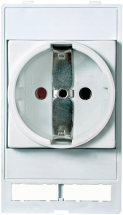 Prise de courant allemande VDE sans LED