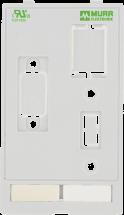MSDD modulaire plaque pour montage USB,RJ45,SUB-D9
