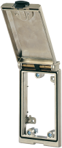 MSDD Cadre simple métal argent