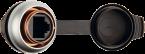 Passe-cloison RJ45 Femelle/Femelle