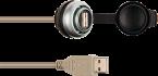 Passe-cloison USB 3.0 forme A