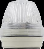 Comlight57 Feu de signalisation blanc à LED