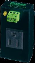 MSVD prise de courant d'armoire de commande encliquetable sur rail DIN