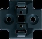 Support de fixation M12 connecteur T (SlimLine)