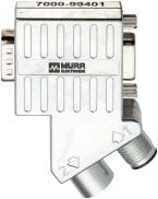 Adaptateur M12/Sub-D Profibus 35°