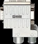 Adaptateur Profibus M12/SUB-D 90°
