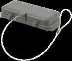 B16 Schutzkappe (Kunststoff/Querverriegelung)