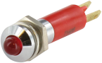 LED MET.  5mm. ROUGE