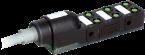 Répartiteur Exact8, 6xM8, 3-pôles, câble fixe