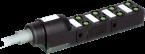 Répartiteur Exact8, 8xM8, 3 pôles, câble fixe