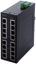Switch Ethernet 16 ports non managés - TREE 16 TX Metall