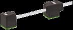Connecteur EV double forme A 18mm