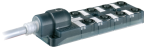 Exact12, 8xM12, 5-pol., sortie câble