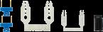 MICO kit de pontets de liaison (1 ensemble de 10 pièces)