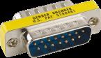Gender Changer (SUB-D15) ST/ST