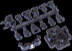 Support de fixation M12 connecteur pour