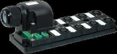 Répartiteur MVP12 8xM12, 5pôles, sans câble