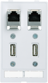 Module 2xRJ45 + 2xUSB pour MSDD, pièce pour MSDD