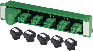 Répartiteur passif ASi Bus IP20 5xAsi/Power