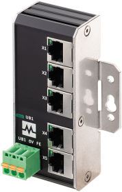 Xenterra 5TX unmanaged Switch 5 Port 1000Mbit Wandmontage