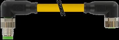M12 St. 90° / M8 Bu. 0°