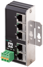 Xenterra 5TX unmanaged Switch 5 Port 1000Mbit Wandmontage