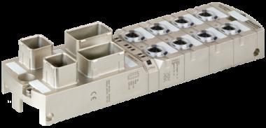 Module compact MVK ProfiNet DI8 DO8 métallique