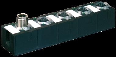 Cube67 DIO4 RS485 E 3xM12