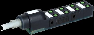 Exact8, 8xM8, 4-pol., sortie câble