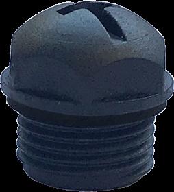 Bouchon d'étanchéité avec joint pour prise M12 femelle