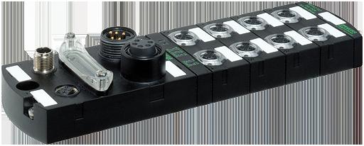 IMPACT67 DI8 DO8, Module d'E/S compact