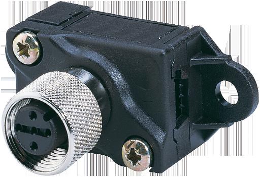 Adaptateur câble plat  ASI / M12