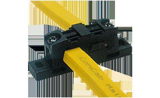 Boîtier de répartition câble plat / câble plat ASI