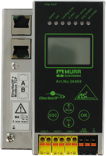 Passerelle Ethernet-IP - Modbus/AS-i (1 maître)
