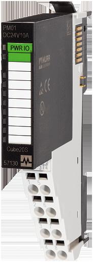 Cube20S Module d'alimentation 24VDC+5VDC/2A