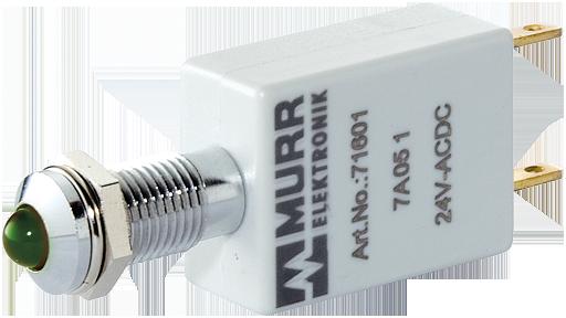LED 24V AC/DC vert IP40