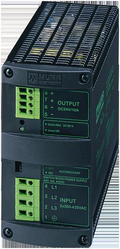 MCS 10-3x400/24