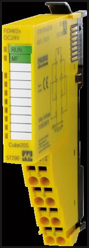 Cube20S Module 4 entrées Safety