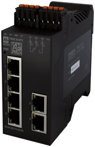 Switch administrable PROFINET