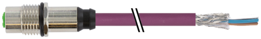 M12 Bu. Flansch HWM CANopen/DeviceNet