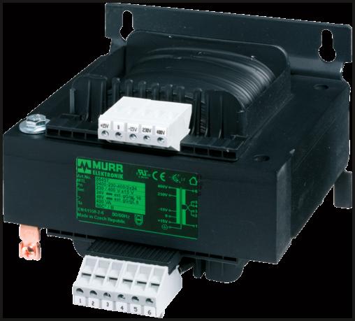 Transformateur de commande et de séparation monophasé MST