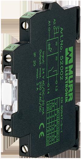 MIRO 6,2 TRIAC 24VDC / 250 VAC/1A