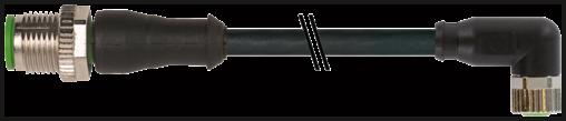 M12 St. 0° / M8 Bu. 90°