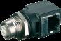 Adaptateur Ethernet M12/RJ45, CAT 5, femelle/femelle,
