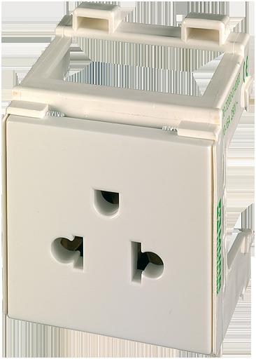 prise de courant pour armoire fixation sur rail din sur la boutique en ligne murrelektronik. Black Bedroom Furniture Sets. Home Design Ideas